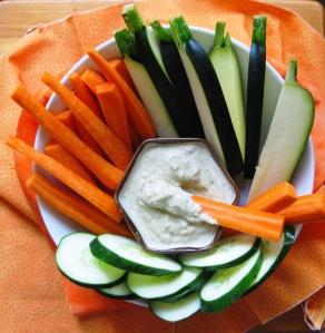 botana de verduras