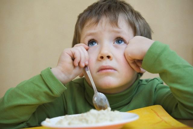 preescolar sin apetito