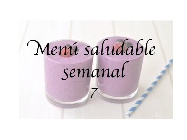 Menú saludable semanal7