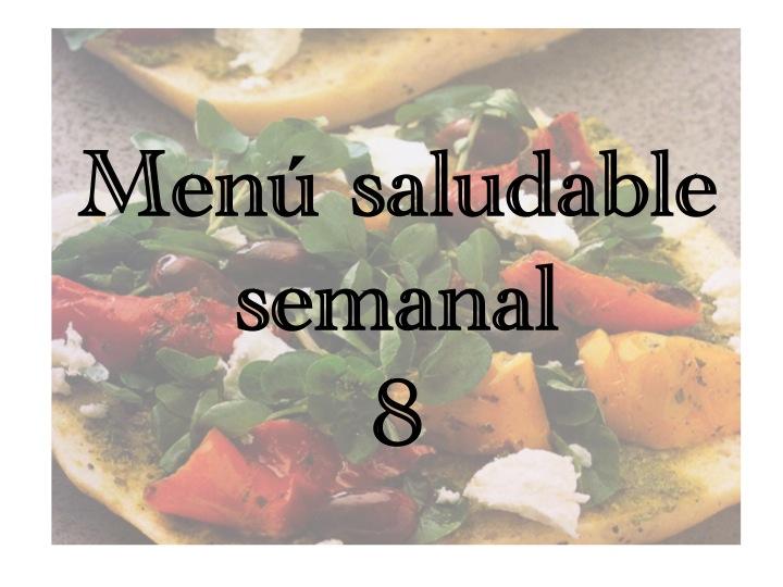 Menú saludable semanal8