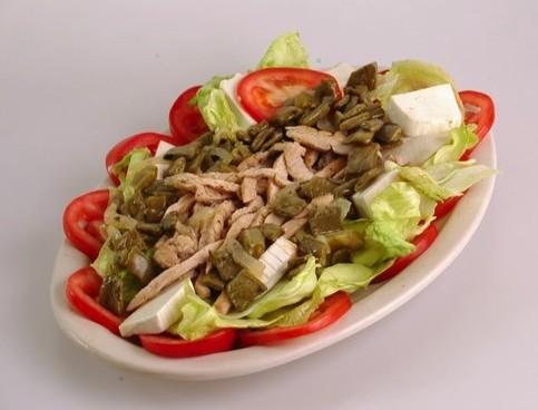 Fajitas de pollo connopales