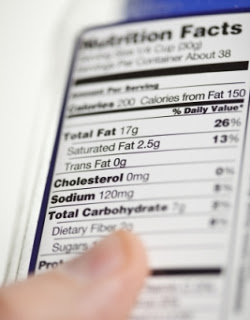 Guía para leer las etiquetas de informaciónnutrimental