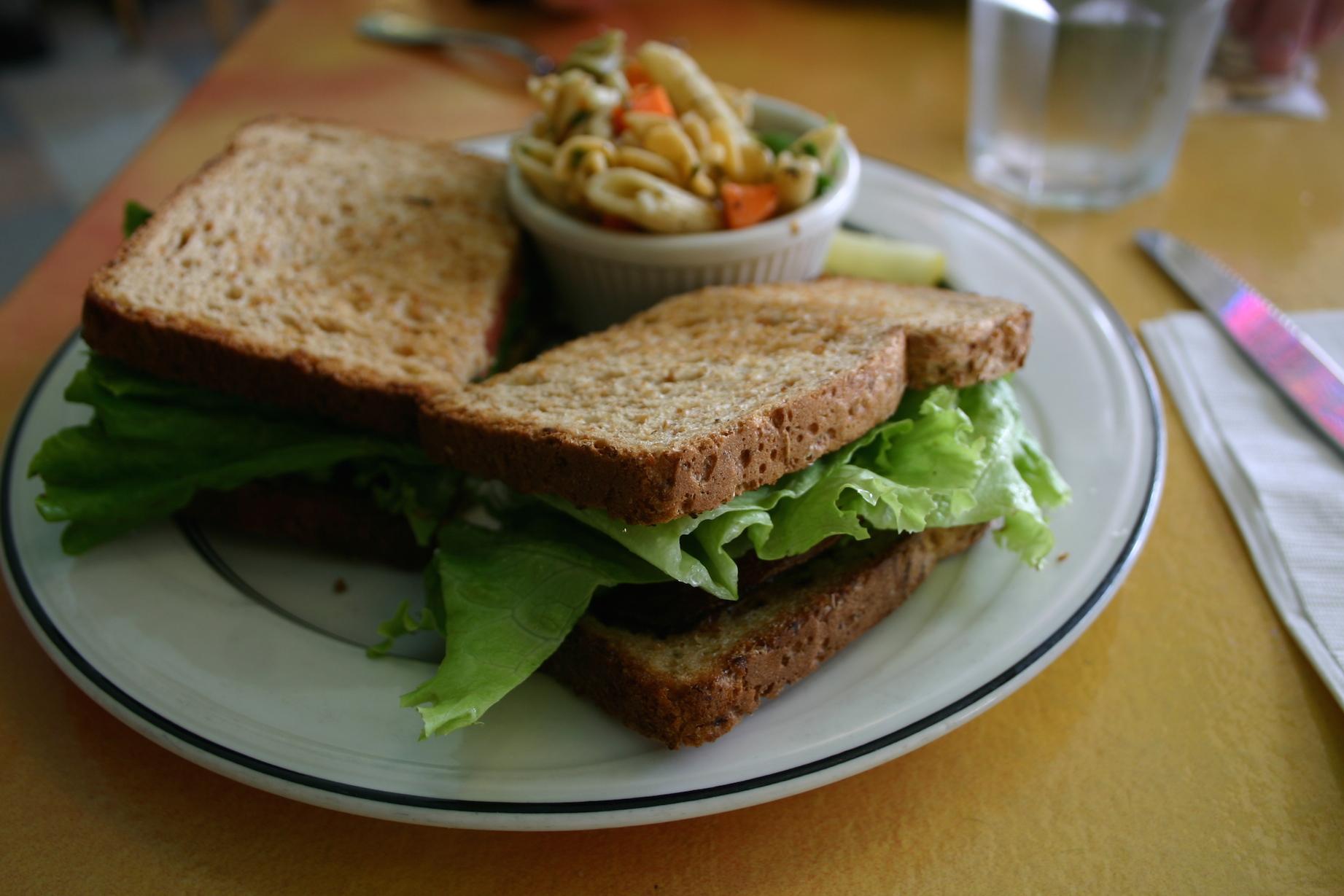 tipos de sandwich nutritivos