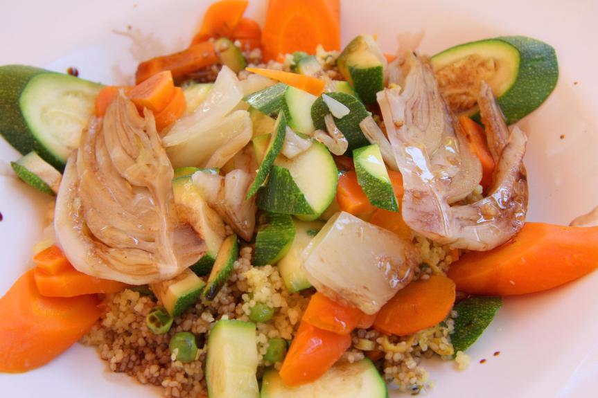 Cómo seguir una dietavegetariana
