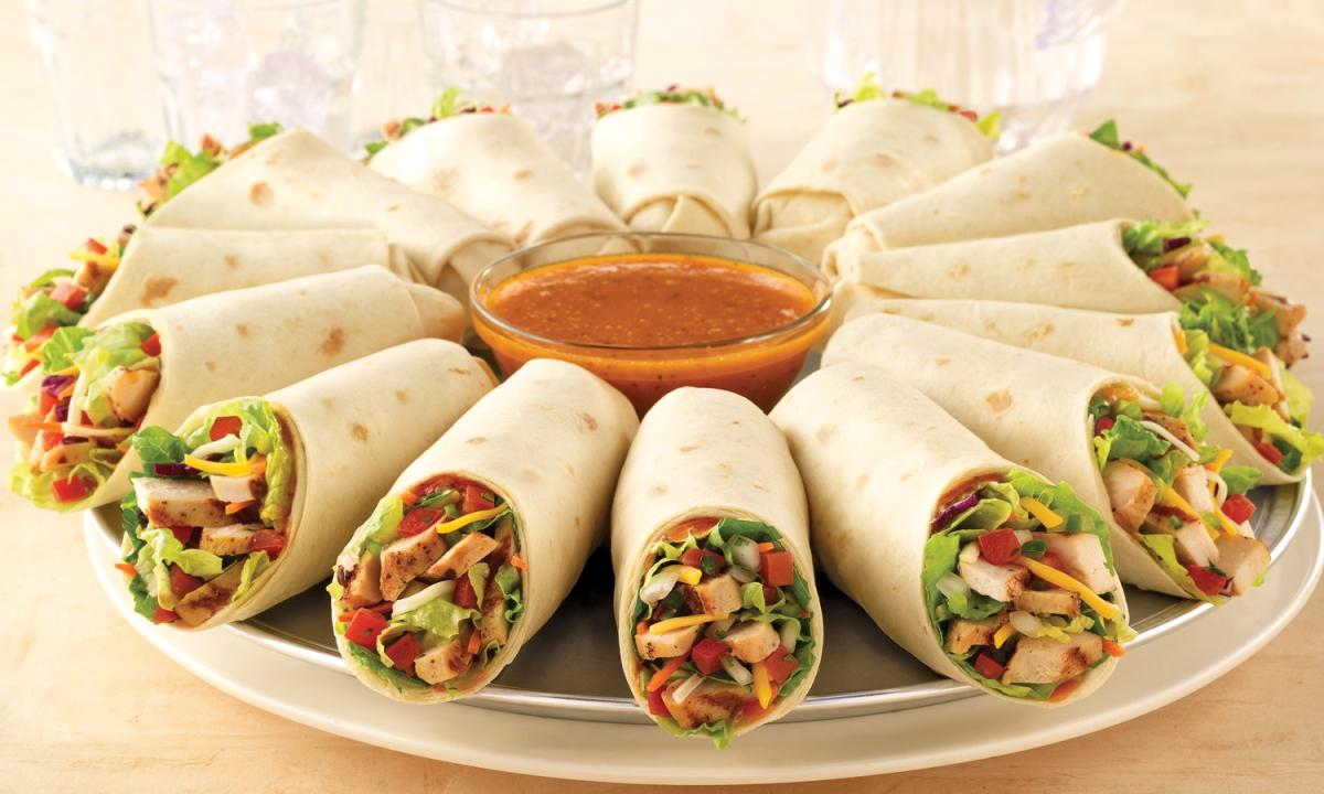 Rollitos de verduras con tortillas de harina hablando de nutrici n - Platos de pasta sencillos ...