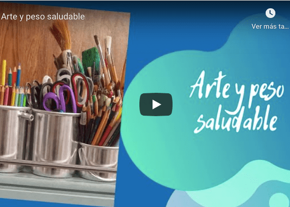 Video sobre arte y peso saludable